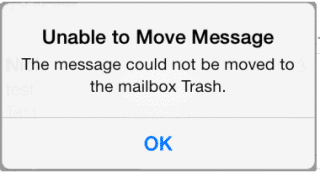 "How To Fix iPhone IMAP Error ""Unable To Move Message To Trash"""