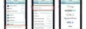 IMAP, SMTP, POP3 Settings For Your iPhone Email Accounts