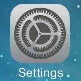 iOS9 upgrade - settings